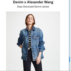 Denim X Alexander Wang Daze Denim Jean Jacket S